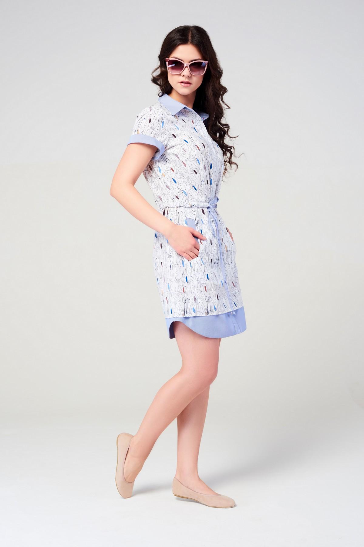 Женское летнее платье на каждый день