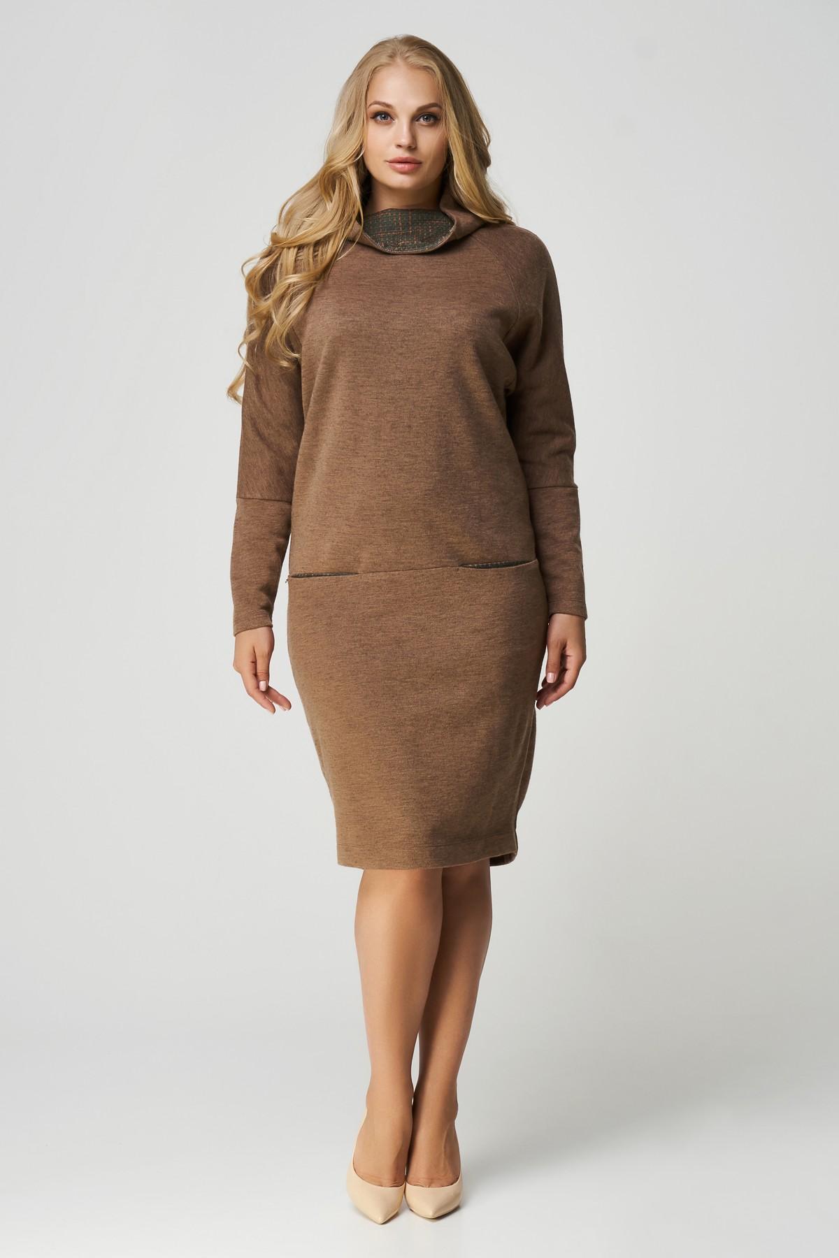 a5ff8be015185f1 Купить осеннее платье большого размера RM1757-B-17DD оптом | Evdress ...