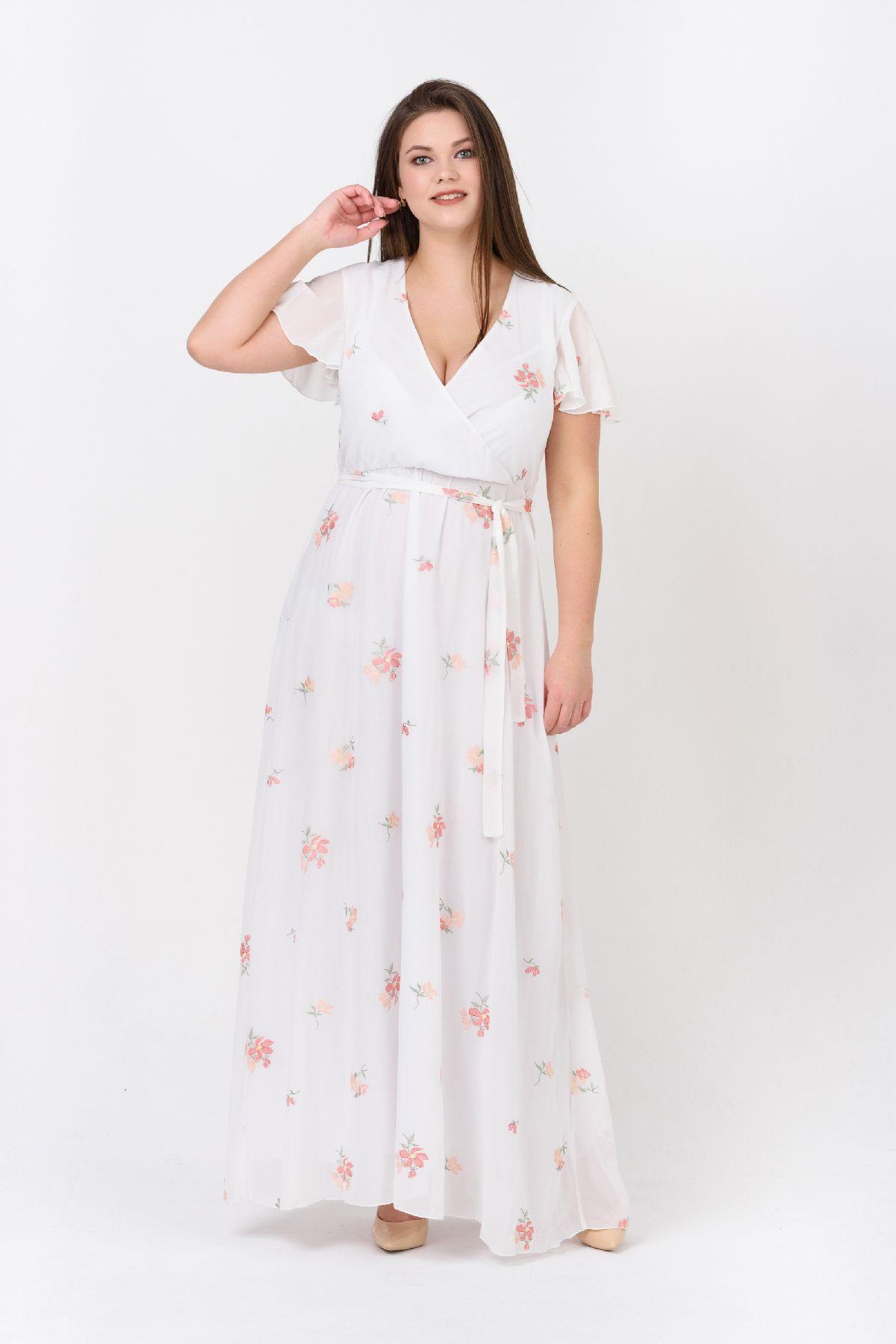 bba206659a8 Купить летнее платье большого размера RMD1920-B-19DD оптом