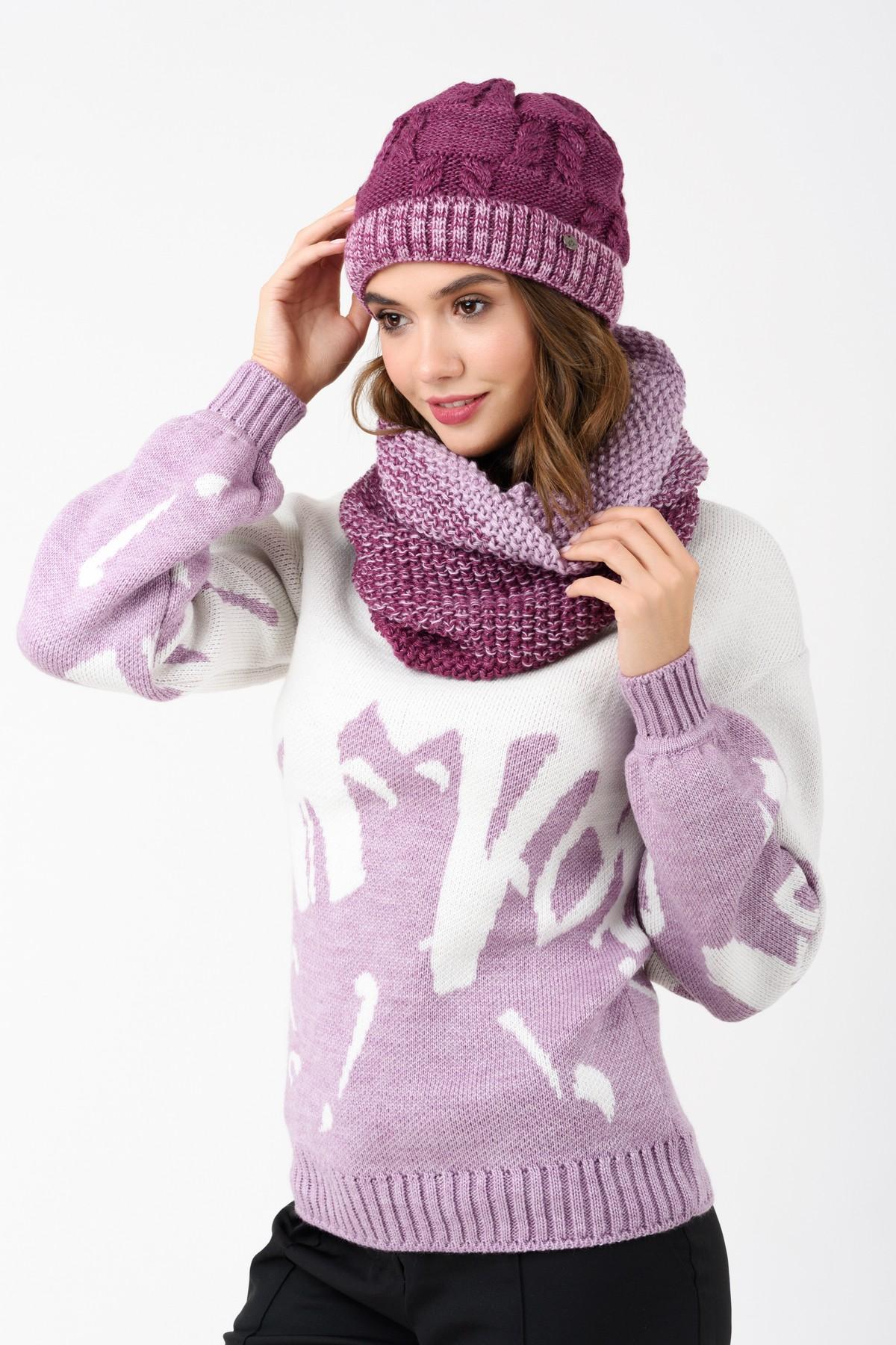 Шапка вязаная, цвет бледно-розовый пудровый — купить в Красноярске ... | 1800x1200