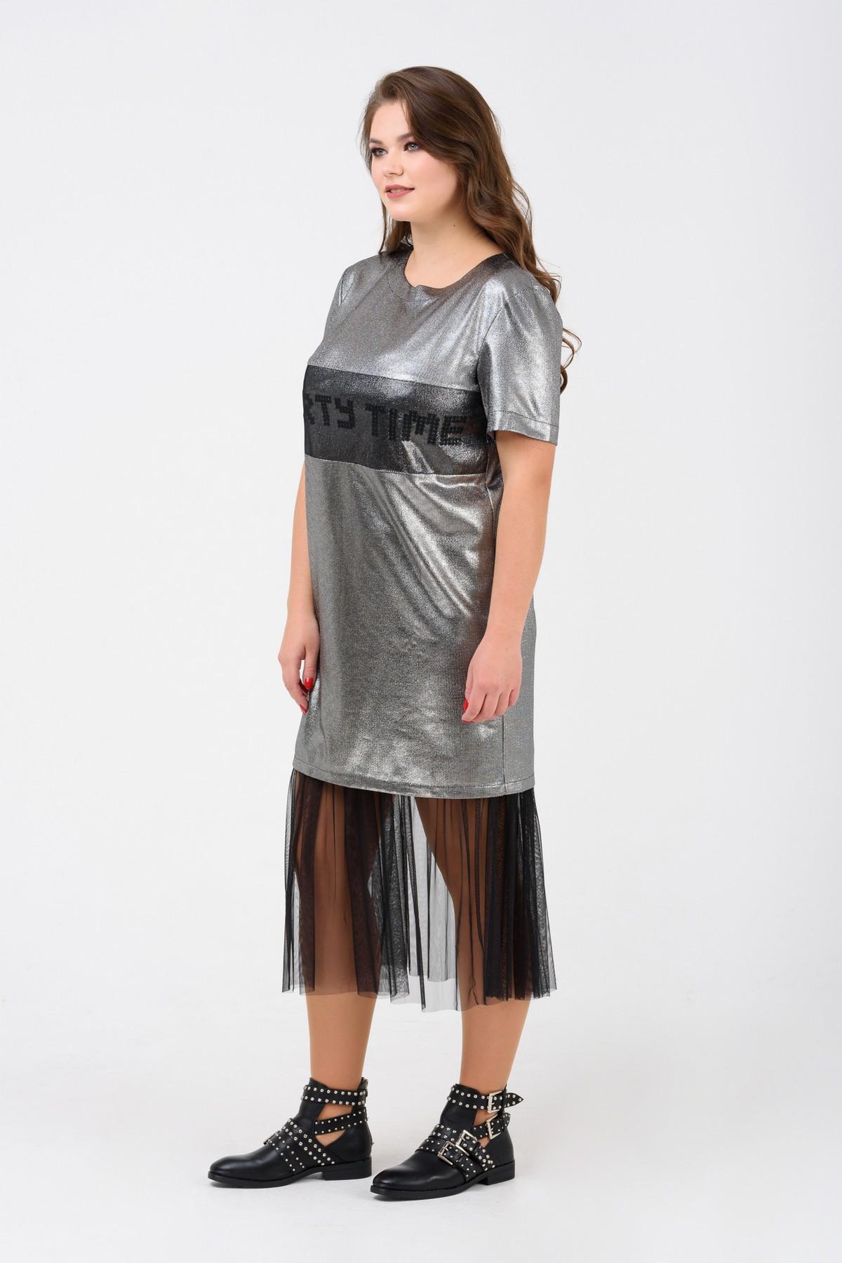 66a16c0e5d1 Купить коктейльное платье большого размера RM1904-B-18VC оптом ...
