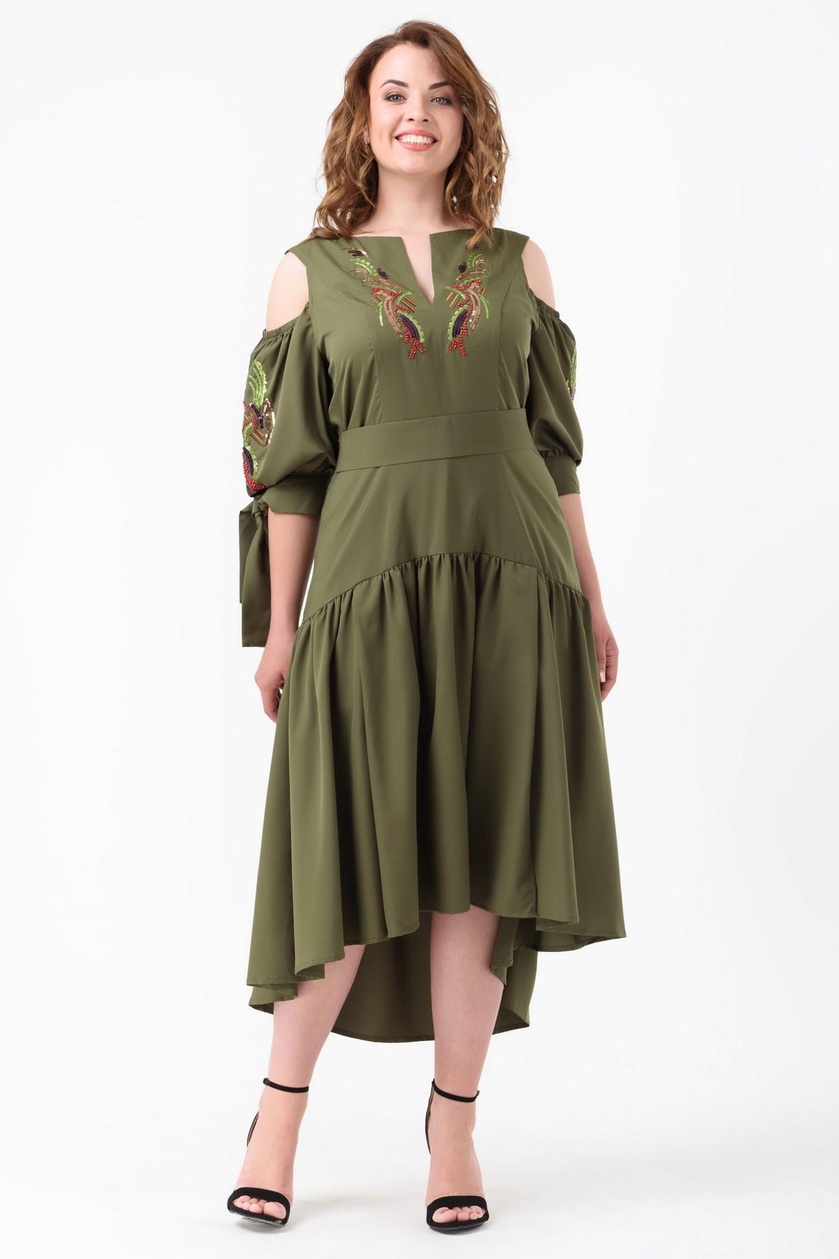 d3f01f6d2ad Купить коктейльное платье большого размера RM1188-B-18VC оптом ...