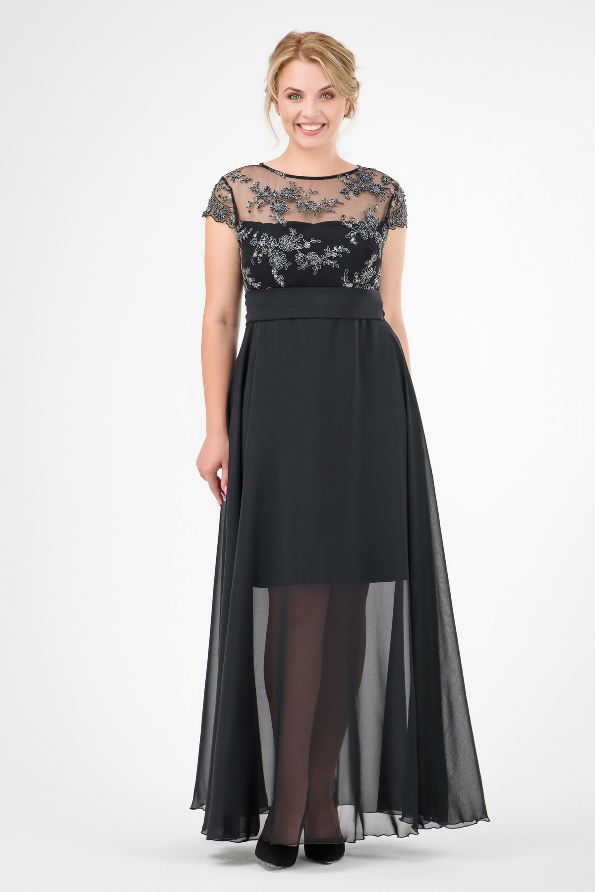 fe58ca48cb5 Купить вечернее платье большого размера RM1136-B-17VP оптом ...