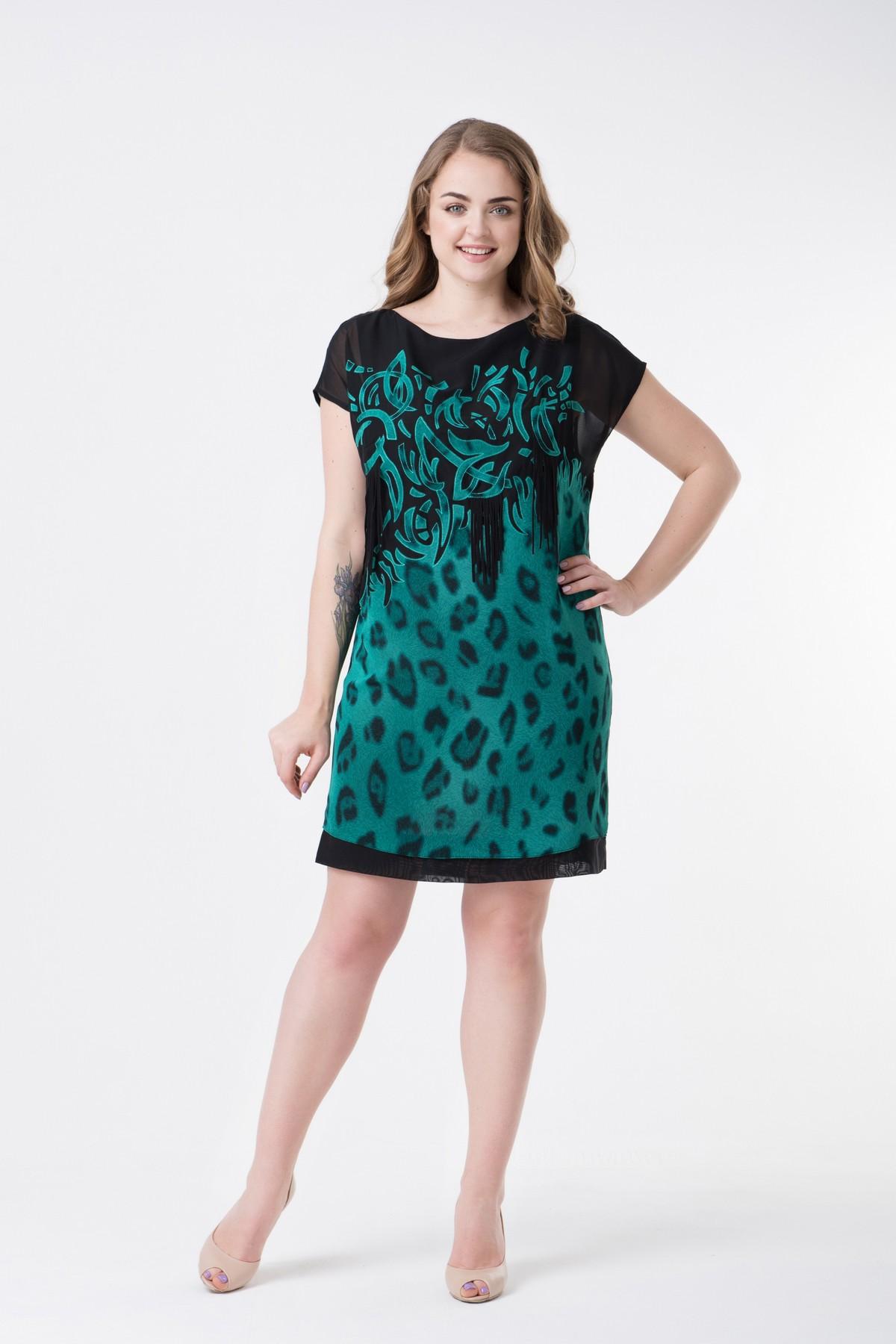 eb13a901ada Купить летнее платье большого размера RM1106-B-17DD оптом