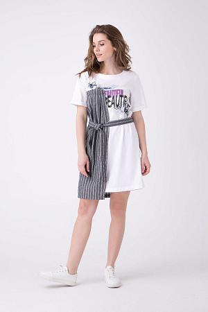 e24d4b1e0a7 Универсальное летнее платье с поясом оптом Универсальное летнее платье с  поясом оптом ...
