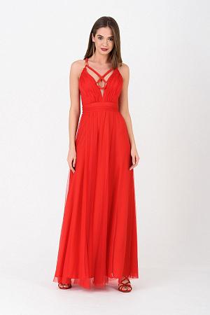 ebfec96f887 Вечернее платье с открытыми плечами оптом Вечернее платье с открытыми  плечами оптом ...