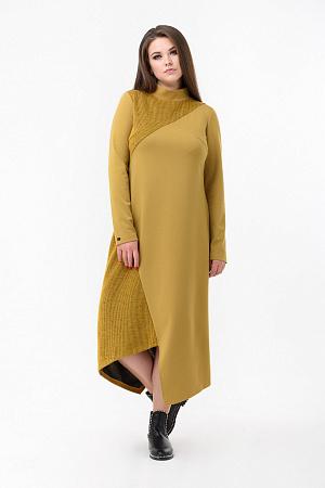 5da14df35a08945 Осеннее асимметричное платье оптом Осеннее асимметричное платье оптом ...