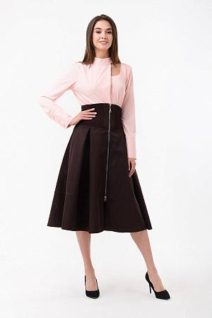 ad623643a36 Свободная юбка с широким поясом оптом Свободная юбка с широким поясом оптом  ...